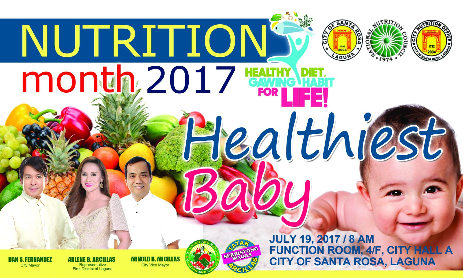pabasa sa nutrisyon The 13th regional nutrition action officers' congress and the 2017 grand  nutrition and national pabasa sa nutrisyon awards recognized.